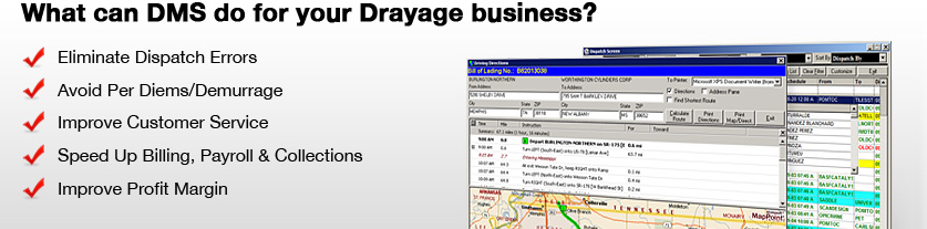 What can DMS do for your Drayage business?